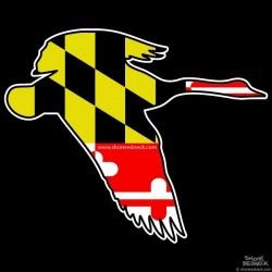 Shore Redneck Maryland Goose Decal