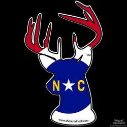 Shore Redneck North Carolina Buck Decal