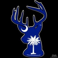 Shore Redneck South Carolina Buck Decal