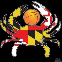 Shore Redneck MD Basketball Crab Decal