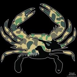 Shore Redneck Duck Camo Hunter Crab Decal