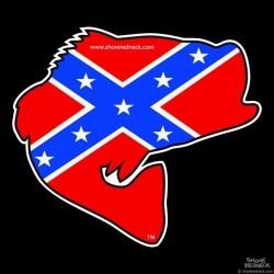 Shore Redneck Dixie Jumpin' Bass Decal