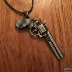 Shore Redneck Big Ol Revolver Necklace