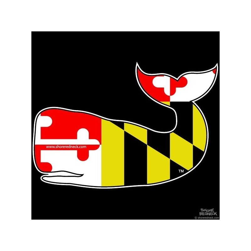 Maryland Flag Crab Decal Related For Maryland Flag Crab