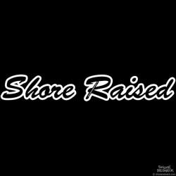 Shore Redneck Shore Raised Script Decal