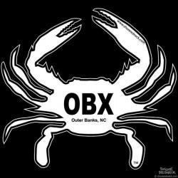 Shore Redneck OBX Crab Decal
