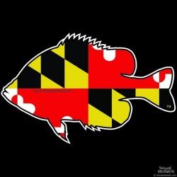 Shore Redneck Maryland Panfish Decal