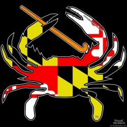 Shore Redneck MD Field Hockey Crab Decal