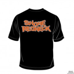 Shore Redneck Blaze Orange Logo T