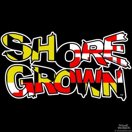 Shore Grown™ MD Decal