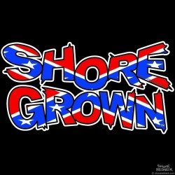 Shore Grown™ Confederate Decal