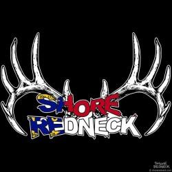 Shore Redneck North Carolina Rack Decal