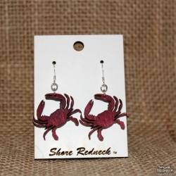 Shore Redneck Red Crab Earings