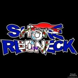Shore Redneck Crab on Top Virginia Decal