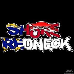 Shore Redneck Crab on Top North Carolina Decal