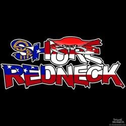 Shore Redneck Crab on Top Georgia Decal