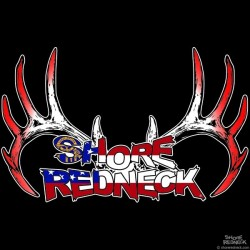 Shore Redneck Georgia Rack Decal