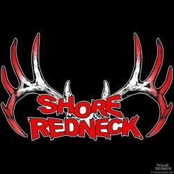 Shore Redneck Signature Red Rack Decal