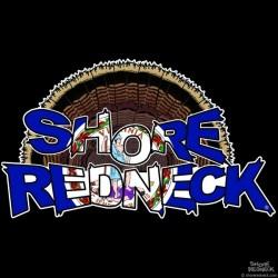 Shore Redneck VA Turkey Fan Decal