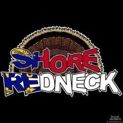 Shore Redneck NC Turkey Fan Decal