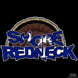 Shore Redneck SC Turkey Fan Decal