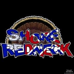 Shore Redneck Old Georgia Turkey Fan Decal