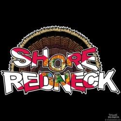 Shore Redneck FL Turkey Fan Decal