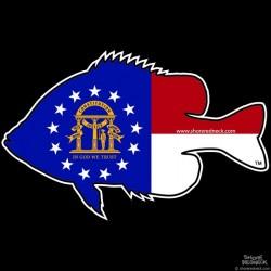 Shore Redneck Georgia Panfish Decal
