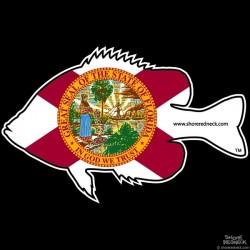 Shore Redneck Florida Panfish Decal