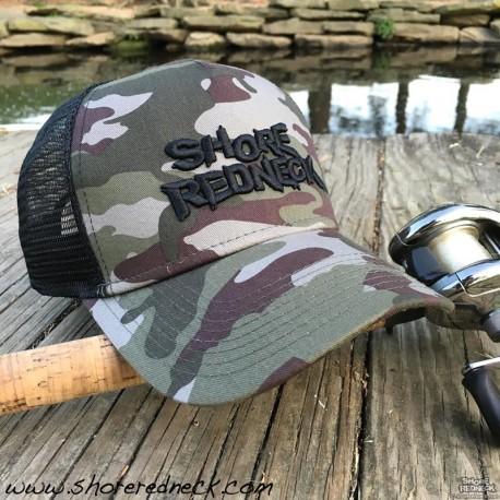 Shore Redneck Camo 3D Mesh Back Hat