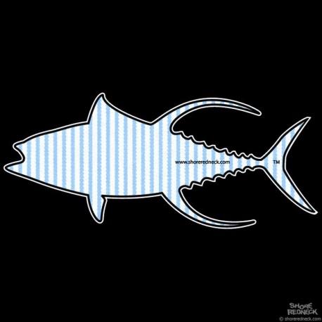 Shore Redneck Seer Sucker Yellowfin Decal