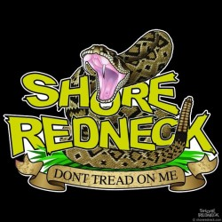 Shore Redneck Don't Tread on Me Classic Decal