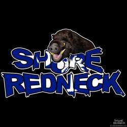 Shore Redneck Boar Hog on Top SC Decal