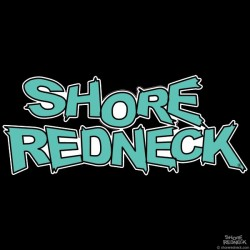 Shore Redneck Bahama Blue Logo Decal