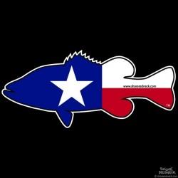 Shore Redneck Texas Bass Decal