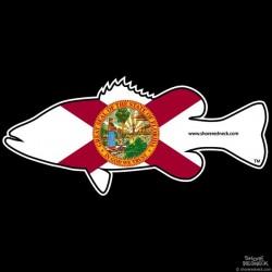 Shore Redneck Florida Bass Decal