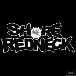 Shore Redneck Buck In the Sights USA Flag Decal