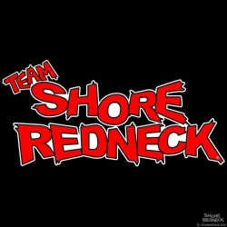Shore Redneck Team Classic Red Decal