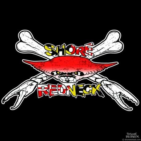 Shore Redneck Crab-Bones MD Decal