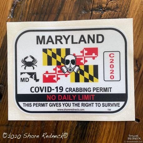Shore Redneck Covid-19 Crabbing Permit
