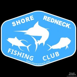 Shore Redneck Fishing Club Decal