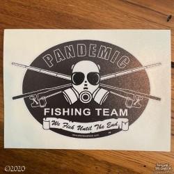 Shore Redneck Pandemic Fishing Team Classic Black