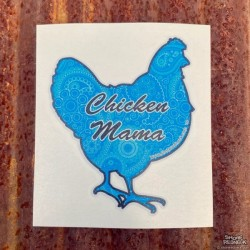 Shore Redneck Blue Paisley Chicken Mama™