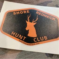 Shore Redneck Hunt Club Sika Decal