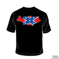 Shore Redneck Dixie Bass T-shirt