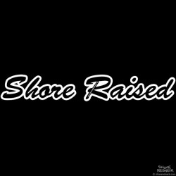 Shore Redneck Shore Raised Script Decal