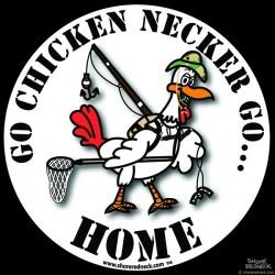 Shore Redneck Official Chicken Necker Camo Decal