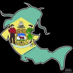 Shore Redneck DE Catfish Decal